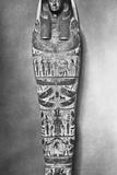 Egyptian Mummy Coffin Photographic Print