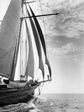 The Guinevere at Sail Photographic Print by Edwin Levick