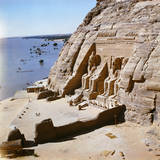 Temple of Ramesses II at Abu Simbel Photographic Print