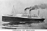 Photograph of the Empress of Ireland Photographic Print