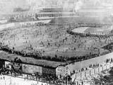 First World Series Game Fotografisk tryk