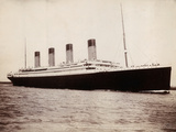 R.M.S. Titanic Embarking on Fatal Maiden Voyage Photographic Print