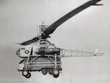 The Xh-17 Helicopter in Flight Photographic Print