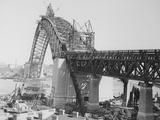 Larges Arch Bridge in Australia Photographic Print