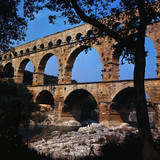 View of the Pont Du Gard Photographic Print by Philip Gendreau