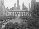 Bryant Park Looking toward Public Library Photographic Print by Philip Gendreau