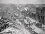 St. Louis after Tornado Photographic Print