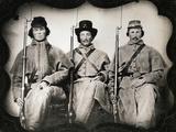 Confederate Soldiers Fotografická reprodukce