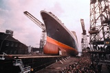 Giant Cunard Liner Photographic Print