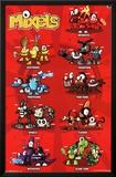 Lego Mixels - Grid Posters