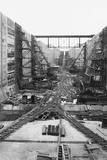 Panama Canal under Construction Photographic Print
