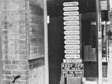 Sign Making Store Photographic Print by John Vachon
