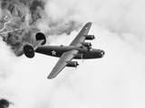 B-24 Liberator Flying Photographic Print by Philip Gendreau