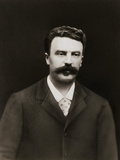 Author Guy De Maupassant Photographic Print by  Nadar