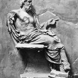 Aesculapius the Mythological Diety of Medicine and Healing Photographic Print