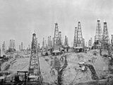 Oil Fields in Burma Photographic Print