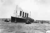 SS Lusitania Photographic Print