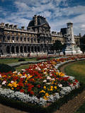 Exterior View of Louvre Photographic Print by Philip Gendreau