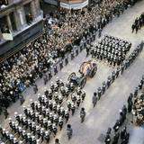 Sir Winston Churchill Funeral Procession Photographic Print
