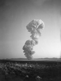 Atomic Mushroom Cloud Photographic Print