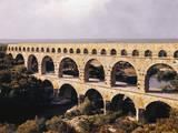 View of Pont Du Gard Photographic Print by Philip Gendreau