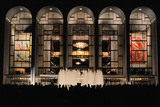 Metropolitan Opera House on Opening Night Photographic Print by  Leder