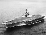 USS Kitty Hawk, Aircraft Carrier Photographic Print