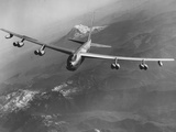 Boeing B-52 Stratofortress in Flight Photographic Print