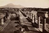 Ruin of Civil Fort in Pompeii. Photographic Print