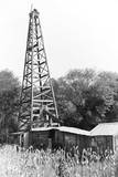 Abandoned Oil Derrick Photographic Print by Marion Post Wolcott