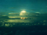 Mushroom Cloud from Nuclear Testing Photographic Print