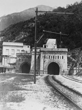 Train Tunnel of the Rhone Valley Photographic Print