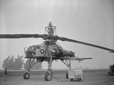 View of Howard Hughes XH 17 Helicopter Reproduction photographique