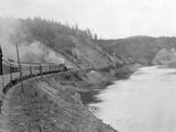 Trans Siberian Express Train Photographic Print