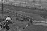 Berlin Wall at Potsdamer Platz Photographic Print