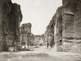Ruins of Roman Bath Houses Photographic Print