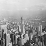 Aerial View of Chrysler Building in New York City Photographic Print