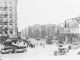 Intersection of Lenox Avenue and West 135Th Street Photographic Print