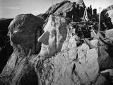 Washington,Jefferson's Heads/Mt Rushmore Photographic Print