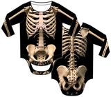 Infant: Skeleton Costume Romper Grenouillère bébé