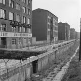 View of Berlin Wall Photographic Print