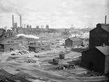 General View of the Republic Steel Plant Photographic Print