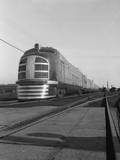 Front View of Passenger Train Photographic Print