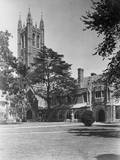View of Princeton University, Madison Hall Photographic Print by Philip Gendreau