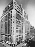 Exterior of Macy's Department Store Photographic Print