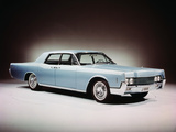 1966 Lincoln Continental Four Door Sedan. Photographic Print