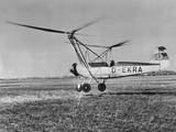 An Early Model of the Modern Helicopter Photographic Print