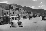 Taos Pueblo Photographic Print by W.H. Shaffer