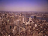 New York City Seen from the Empire State Building Photographic Print