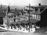 Stepped Row Houses Photographic Print by Walker Evans